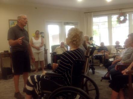 Singing for Grandpa