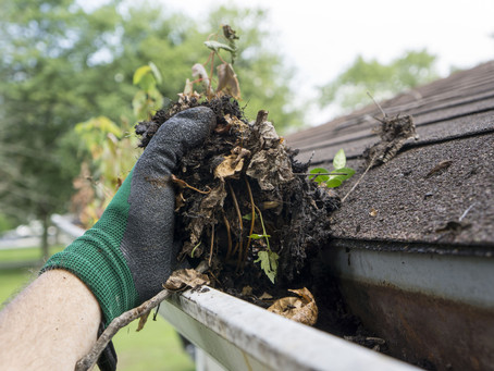 Does your insurance company pay out for water damage caused by blocked or leaking gutters?