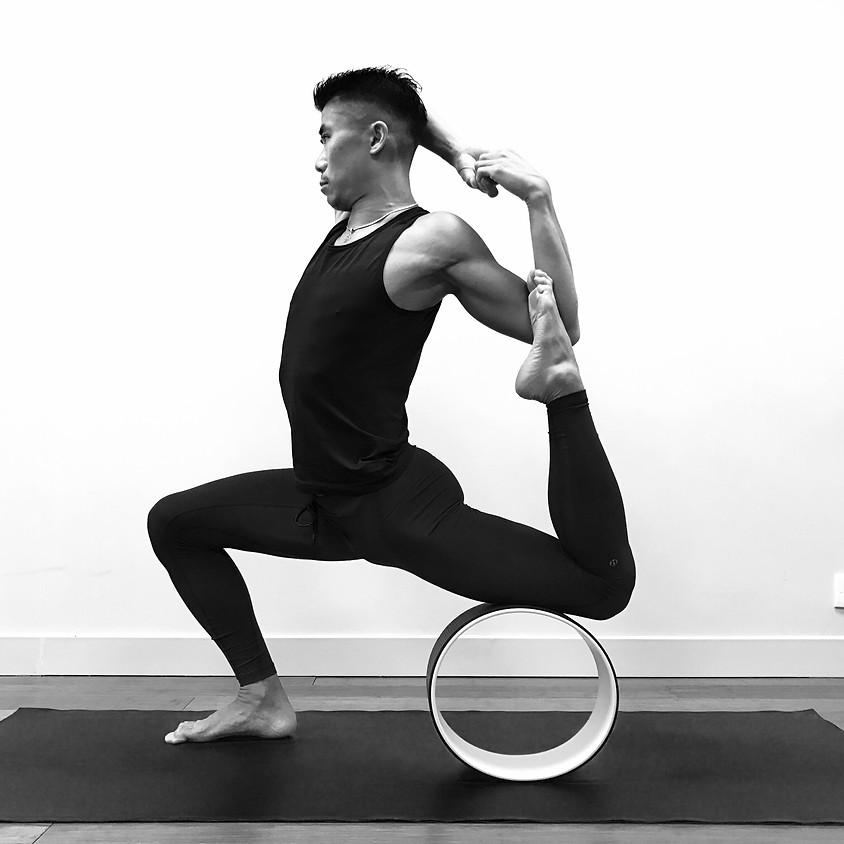 Power in Inversions Level 1 + Yoga Wheel Workshop