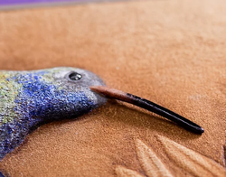 Hummingbird (detail)