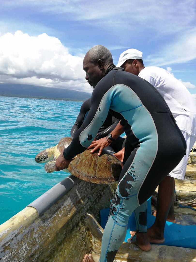Monitorização marinha. © Maria Branco