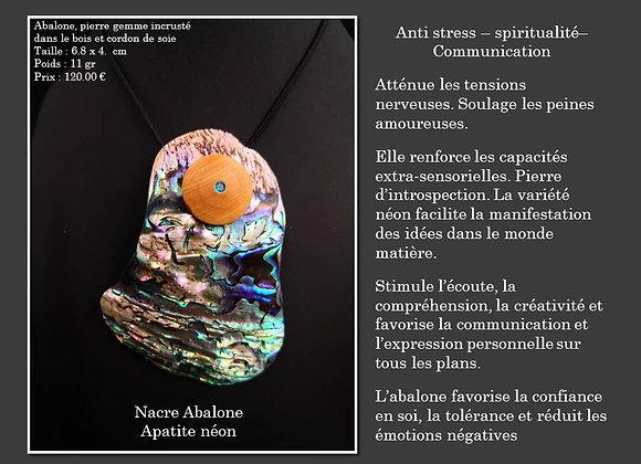 Nacre Abalone Apatite néon