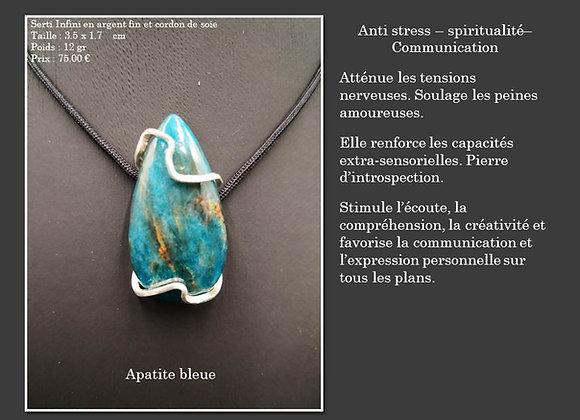 Apatite bleue