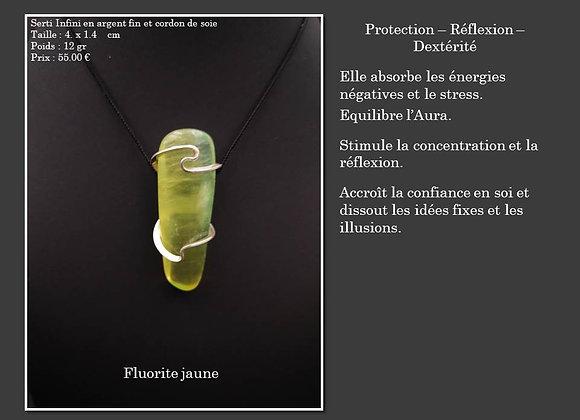 Fluorite jaune