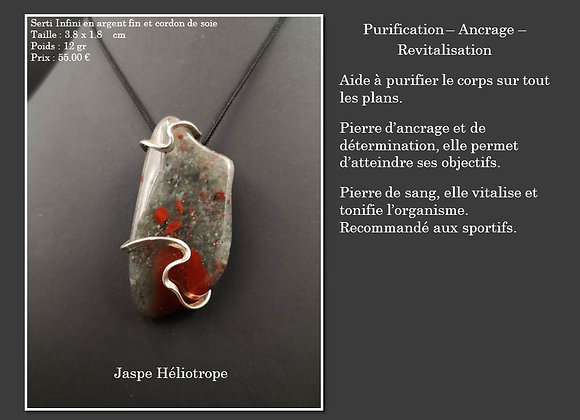 Jaspe Héliotrope