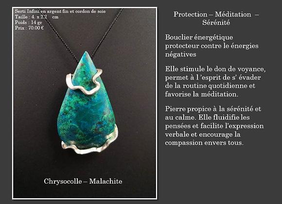 Chrysocolle – Malachite