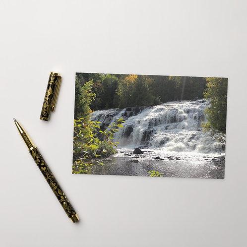 Bond Falls (Haight Township, MI)Standard Postcard