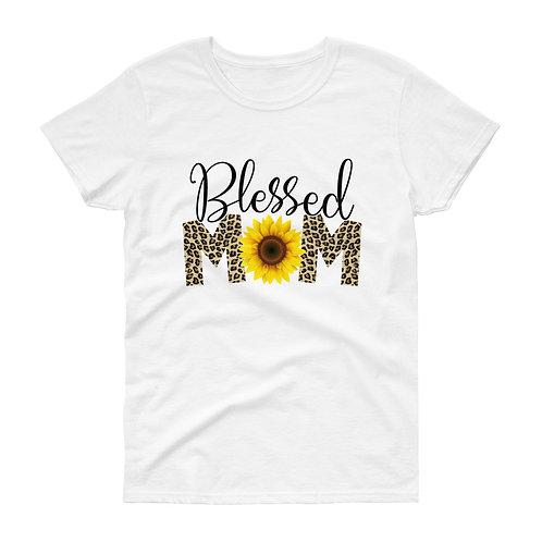 Blessed Mom- Women's short sleeve t-shirt