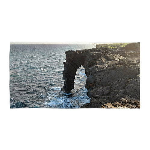 Lakeside Cliff - Towel