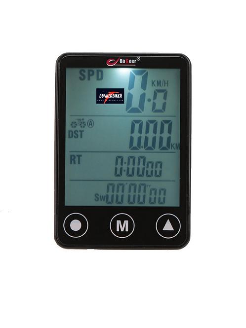 Velocímetro Bogeer LCD para bicicleta