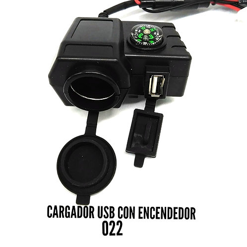 Cargador USB con encendedor