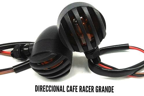 Direccional café racer metálica x4