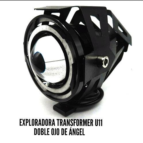 Exploradoras Transformer U11 doble ojo