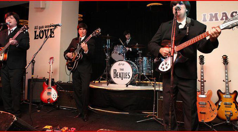rock band, beatles tribute,