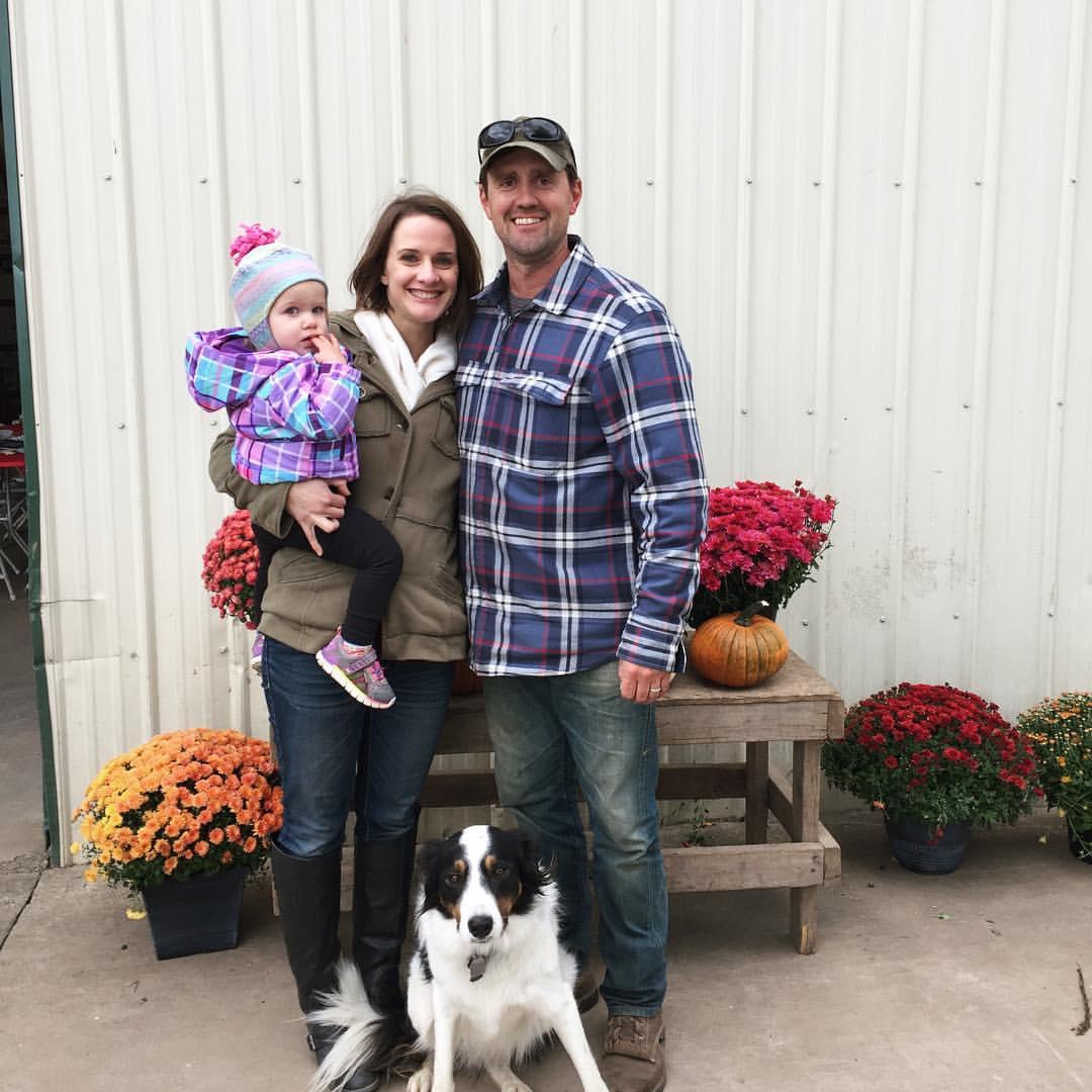 Pete, Katie and Cora Metzler