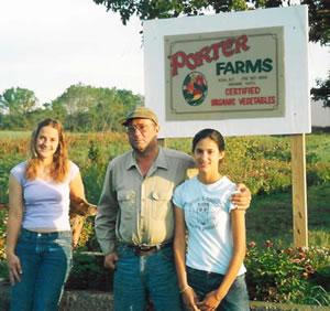 Steve, Katie and Sarah Porter