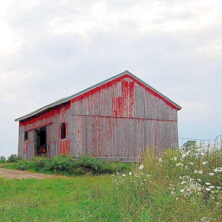 Original barn at Porter Farms