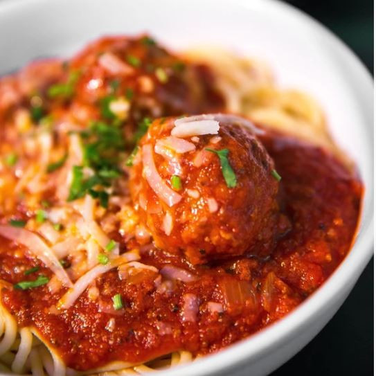 Spaghetti and Meatballs by Penna's Catering