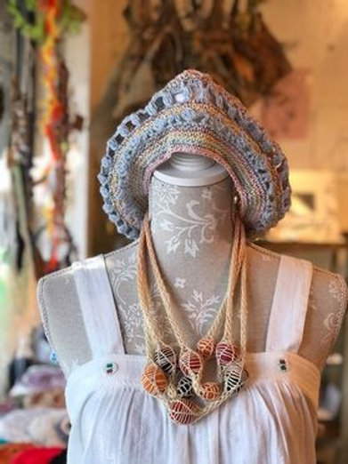 編みネックレス by Mesh-mesh-Textile