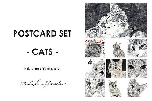ステイホーム猫ポストカード10選 山田貴裕