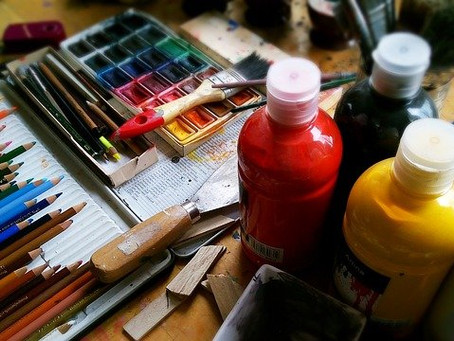 Encourage-Educate-Entertain: Paint with a Limited Palette