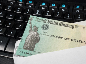 Stimulated Giving with Stimulus Checks