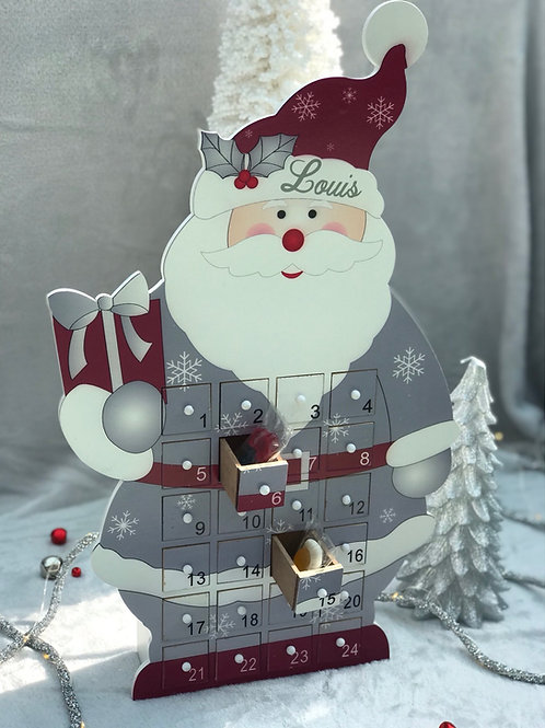 Personalised Santa advent calendar