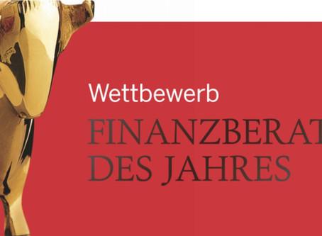 """""""Finanzberater des Jahres"""" - Vorstellung Kerstin Daser in der Zeitschrift €uro"""