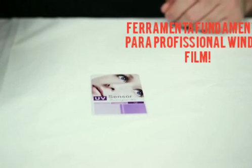 Cartão Teste Raios Ultra Violeta (U.V)