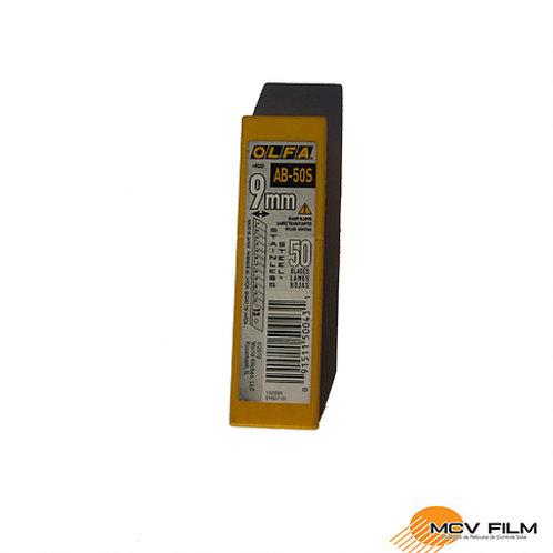 Lamina para Estilete Aço Inox Olfa (Caixa c/50)