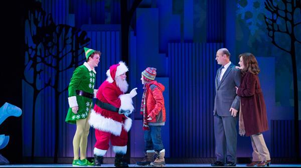 Michael Meets Santa