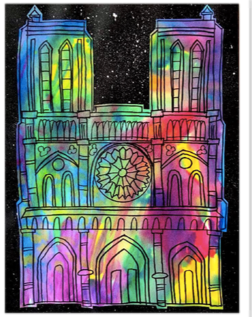 Notre Dame Cathedral Art Project