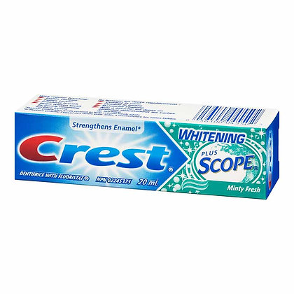 Crest Complete Plus Whitening Scope Minty Fresh Striped Dentifrice with Fluorist