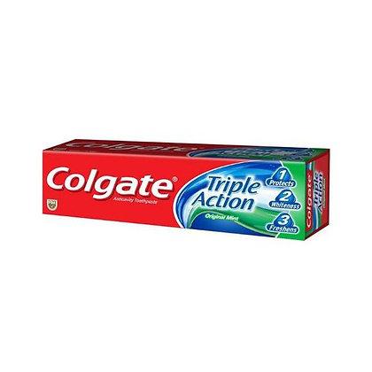 Colgate Triple Action Original Mint Fluoride Toothpaste 60mL