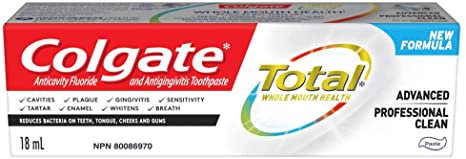 Colgate Total Advanced Professional Clean Paste Anticavity Fluoride and Antiging