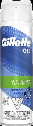 Gillette Gel Sensitive Skin Shave Gel 198g