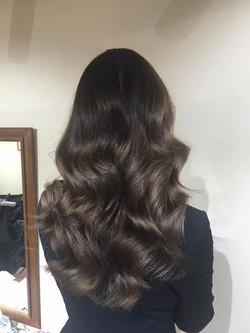brown waves