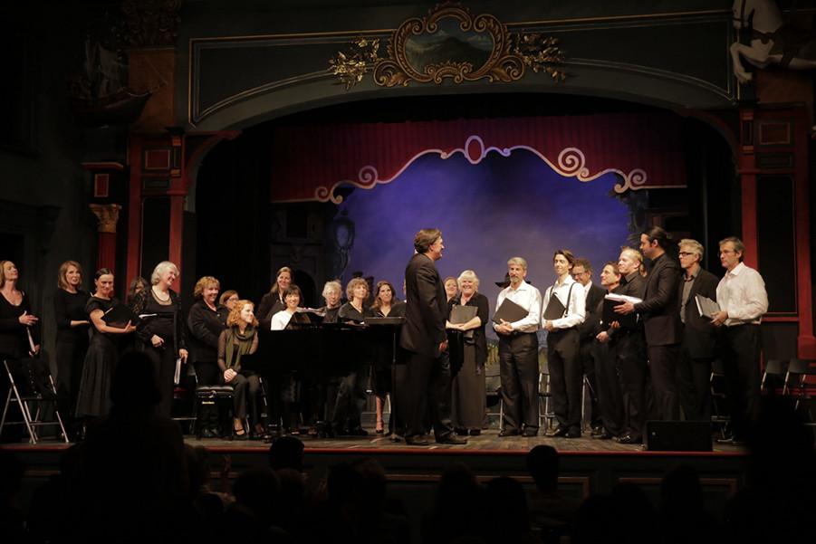The Throckmorton Chorus Christmas Concert 2016