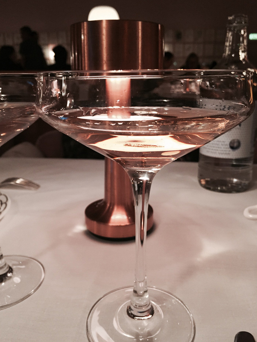 Pink Champagne in Mayfair