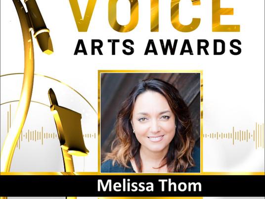 Judging at the 2021 Voice Arts Awards