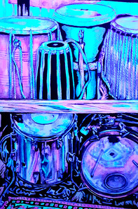 Drums Old and New UV