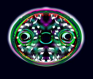 Diatom Oval Purple