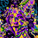 Flora Purple Yellow