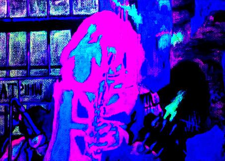 Saxophonist UV