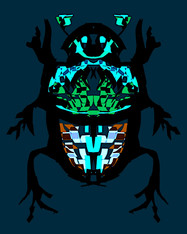 Beetle Blue Ground