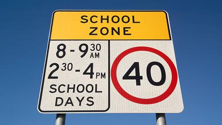 School Zones – They keep our children safe – Understanding the signs & penalties
