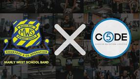 MW Band + CODE 5 partnership