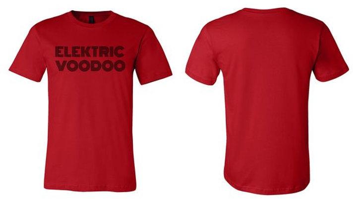 Men's - Red - Elektric Voodoo - Logo T-Shirt