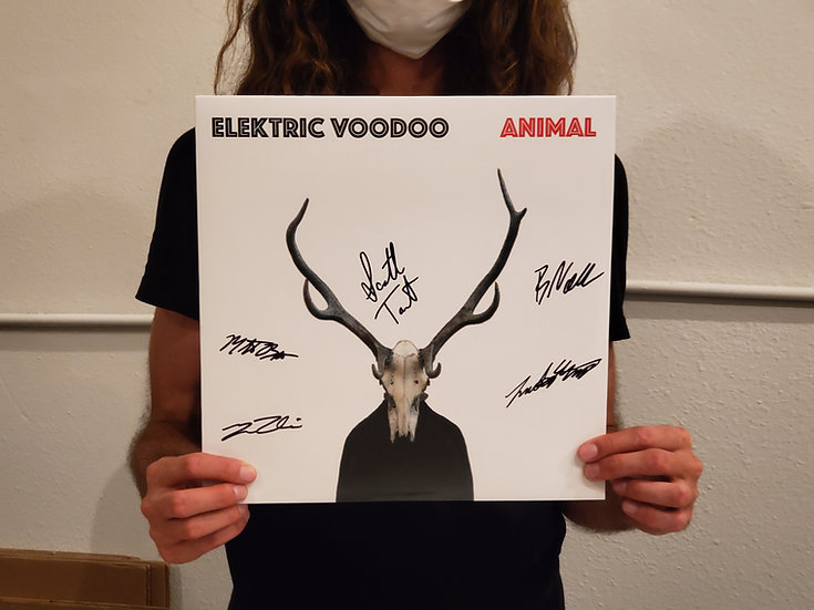 Signed Vinyl - Animal