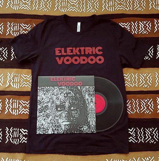 Men's - Black - Elektric Voodoo - Logo T-Shirt